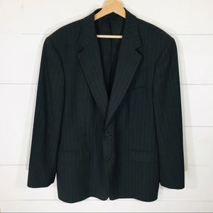 BROOKS BROTHERS Wool Pinstripe Suit Coat Jacket 44